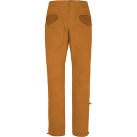 E9 Rondo Slim Trousers Men mustard